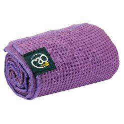 Serviette tapis de yoga antidérapante purple - Stelvoren