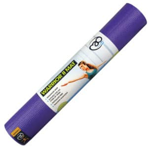 tapis warrior II 6mm yoga mad