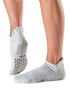chaussettes antidérapantes yoga pilates tavinoir