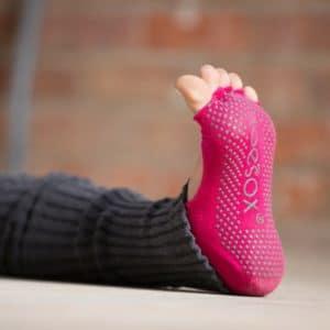 Chaussettes de Yoga Half Toe