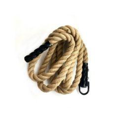 Corde à grimper climb rope 4m pour escalade lors de séance crossfit et circuit training