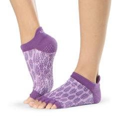 chaussettes de pilates et yoga Half Toe Low Rise Ivy - Stelvoren