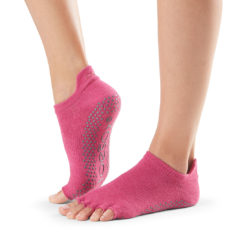 Half Toe Low Rise Raspberry Core colour Toesox - Stelvoren