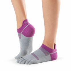 chaussettes de sport lolo orchid de toesox