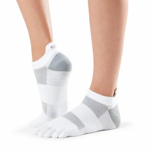 chaussettes de sport lolo white de toesox