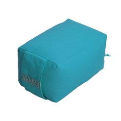 petit coussin de méditation pour le voyage turquoise - Stelvoren