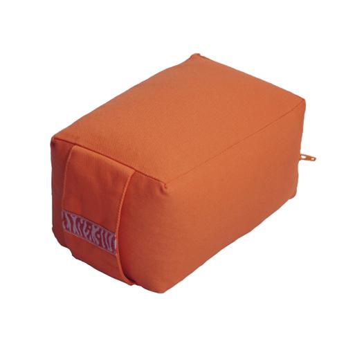 petit coussin de méditation voyage orange - Stelvoren