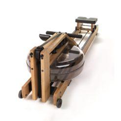 Pour un entraînement cardio complet le rameur waterrower double rail en chêne est idéal
