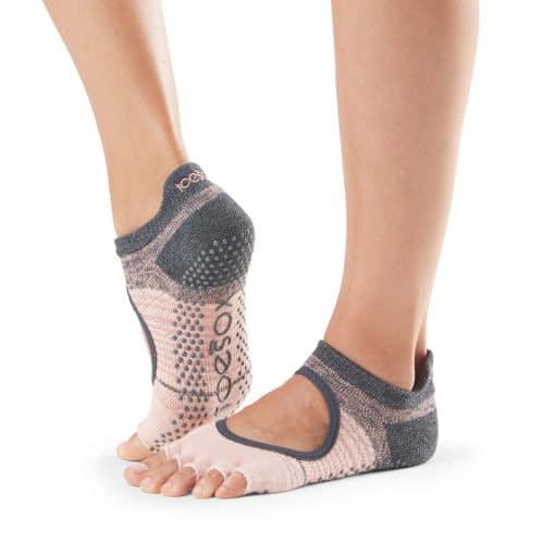 chaussettes de pilates half toe bellarina flurry Toesox - Stelvoren
