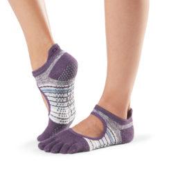 chaussettes à cinq doigts Toesox pour le pilates - Stelvoren