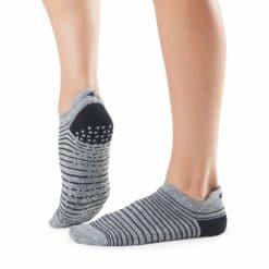chaussettes de pilates Savvy Moon Stripe - Stelvoren