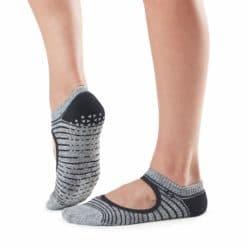 chaussettes antidérapantes Tavi Noir Chey Moon Stripe - Stelvoren
