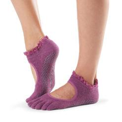 chaussettes à orteils séparés Toesox en coton biologique