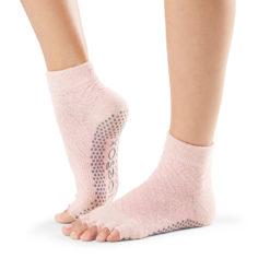 chaussettes à orteils séparés et antidérapantes pour le Pilates et le Yoga - Stelvoren