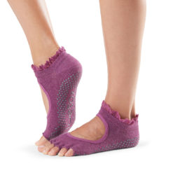 chaussettes mitaines half toe bella de toesox - Stelvoren