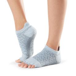 chaussettes antidérapantes pilates et yoga - Stelvoren