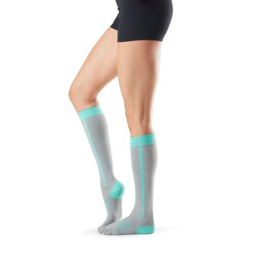 chaussettes de compression Toesox à orteils séparés 4am Ice - Stelvoren