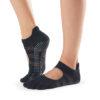 chaussettes antidérapantes Toesox Full Toe Bellarina Glitz