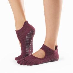 chaussettes à orteils séparés Toesox Full Toe Bellarina Vixen