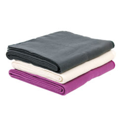 couverture de yoga anthracite sans couture - Stelvoren
