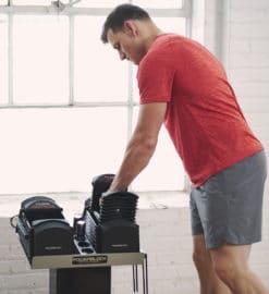 PowerBlock Pro 50 Exercice