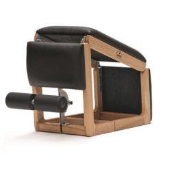 Banc Tria Trainer Chêne cuir véritable - Stelvoren