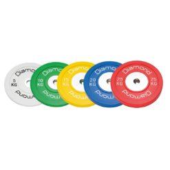 Disques olympiques Competition Pro ou d'entraînement olympiques 5kg - Stelvoren