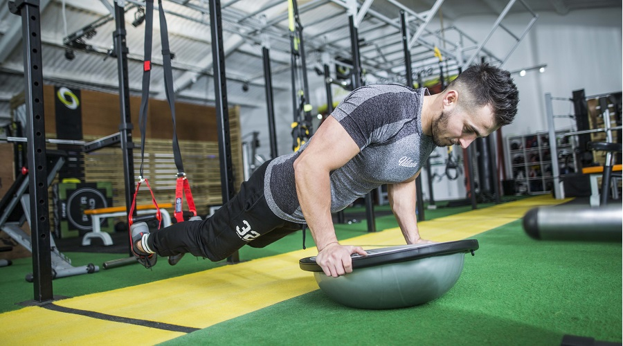 Gainage et proprioception - Air Dome Fitness-Mad