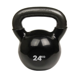 Haltère Kettlebell 24kg noir - Stelvoren