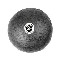 Medecine Ball PVC 2kg Noir- Stelvoren
