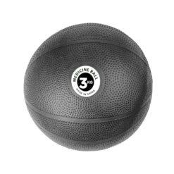 Medecine Ball PVC 3kg Noir - Stelvoren