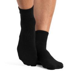 chaussettes antidérapantes Ankle Black - Stelvoren
