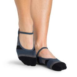 chaussettes antidérapantes Astrid Charcoal - Stelvoren