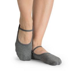 chaussettes antidérapantes Karina Charcoal - Stelvoren