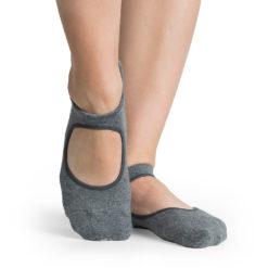 chaussettes antidérapantes Josie Charcoal - Stelvoren