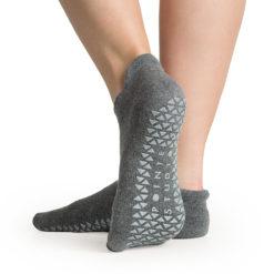 chaussettes antidérapantes Union Charcoal Pointe Studio - Stelvoren