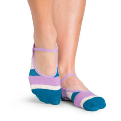 Chaussettes antidérapantes Astrid Teal Oatmeal - Stelvoren