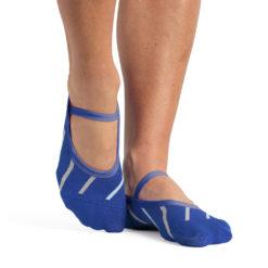 chaussettes antidérapantes Izzy Blue Teal - Stelvoren