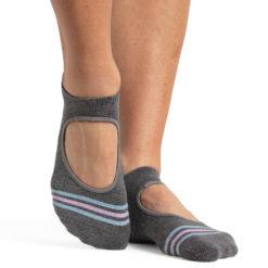 chaussettes antidérapantes Mandy Grey Blue - Stelvoren