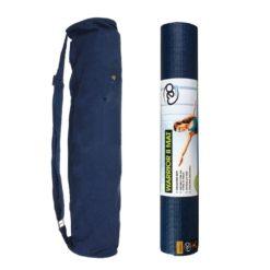 Kit de Yoga Warrior avec sac bleu et tapis pvc non toxique