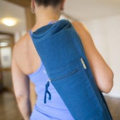 Sac de Yoga Bleu - Boutique Yoga Stelvoren
