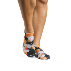 chaussettes antidérapantes Combat Papaya - Stelvoren