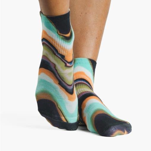 Chaussettes antidérapantes Melt Ankle - Stelvoren