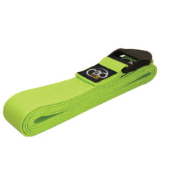 Sangle de Yoga longue 2,5m Lime Green - Stelvoren