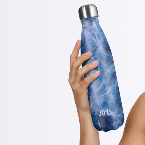 Joy in me Ocean Love DROP hot cold water bottle 500 ml