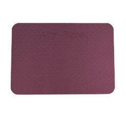 Pad antidérapant aubergine Align Pilates - Stelvoren