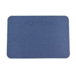 Pad antidérapant bleu Align Pilates - Stelvoren