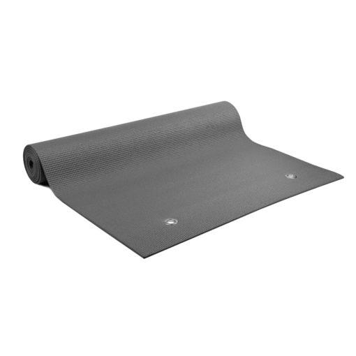 Tapis de Yoga à oeillets Warrior II Plus 4mm Graphite - Stelvoren