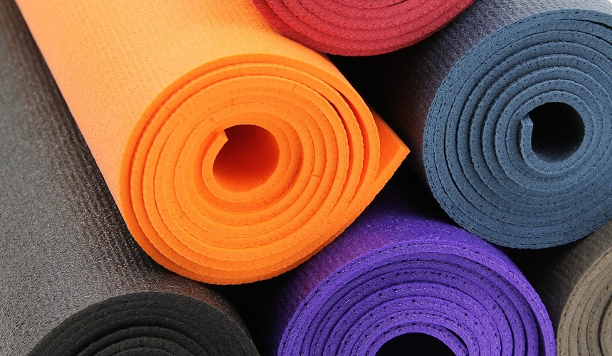 Tapis de yoga pro studio
