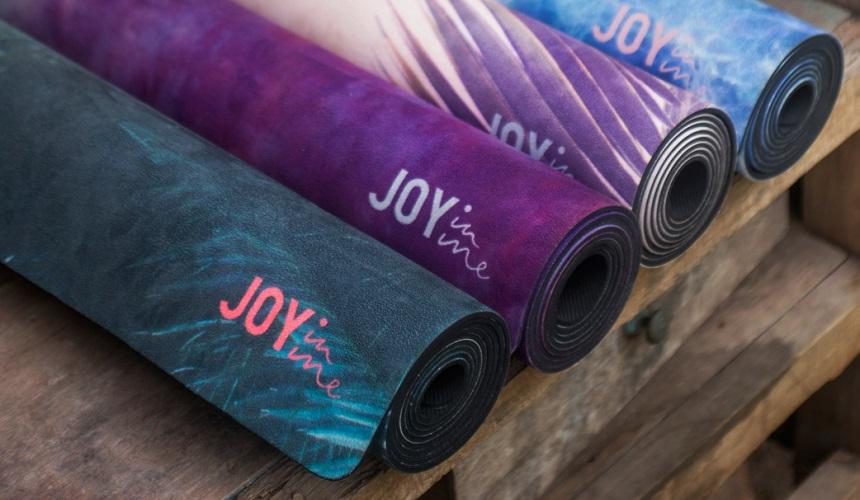 Tapis de Yoga design en caoutchouc